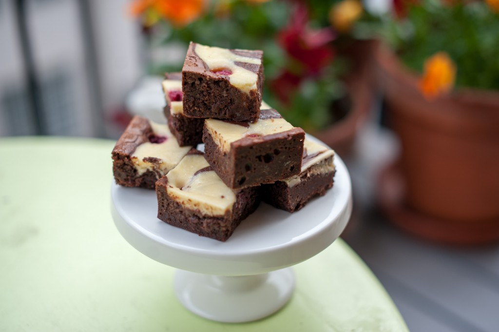 Marmorerade brownies